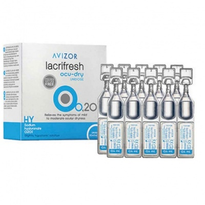 Avizor Lacrifresh Ocu-dry 0.2% Unit Dose