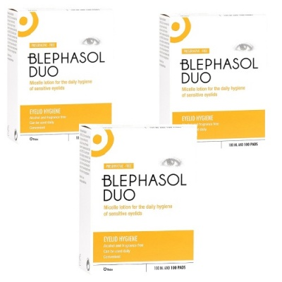 Blephasol Duo Triple Pack
