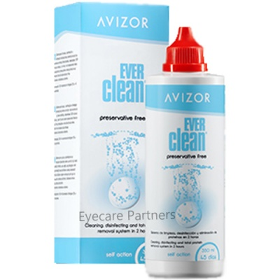 EVER Clean Contact Lens Disinfecting 350ml (45 Day Pack)