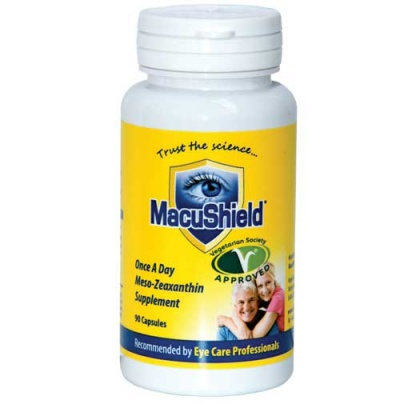 MacuShield Vegetarian 90 Capsules (3 Months supply)