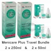 Pack size: Travel Bundle (2 x 250ml and 2 x 50ml)