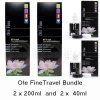 Pack size: Travel Bundle (2 x 200ml and 2 x 40ml)