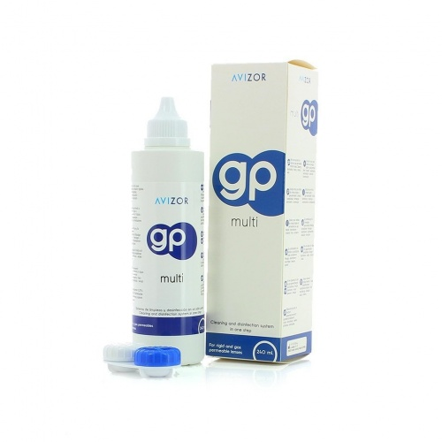 Avizor GP Multi Contact Lens Cleaning