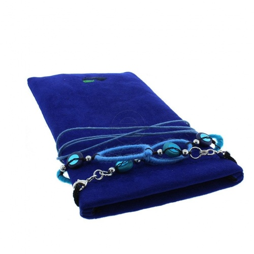 Glamour Plaza- Glasses Case with Decorative Neck / Spectacle Chain