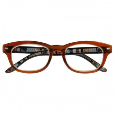 Reading Glasses - Unisex - Tate - Brown