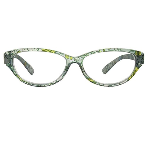 Reading Glasses - Womens - Lulu - Blue Floral