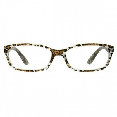 Reading Glasses - Womens - Brazil - Silver Leopard