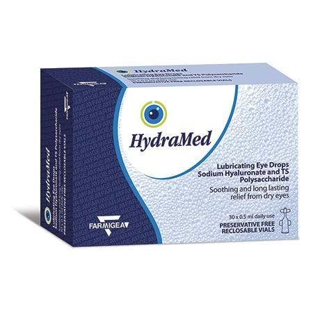 HydraMed Unidose Lubricating Eye Drops with Tamarind Seed *** SALE ** 25% OFF - SHORT EXPIRY NOVEMBER 2020