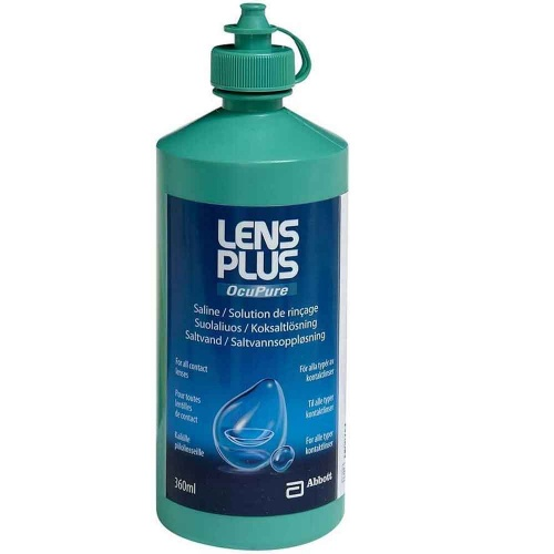 Saline Solution - Lens Plus 360ml