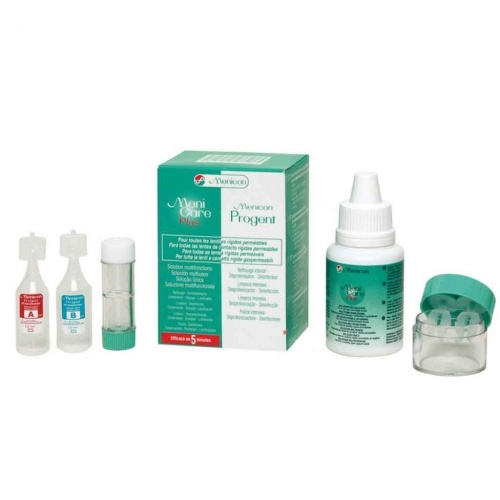 Menicare Plus 50ml and Progent Travel Pack