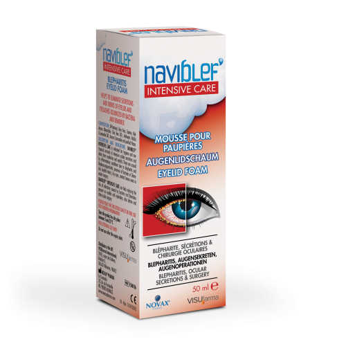 Naviblef Intensive Care Eyelid Foam