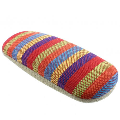 Siesta Fabric Covered Stripey Spec Case