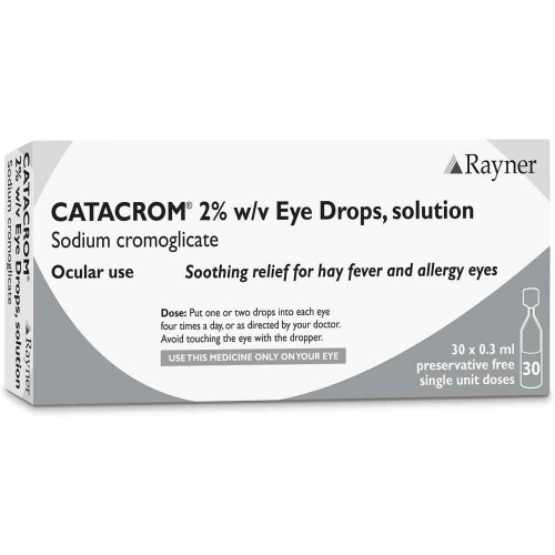 Catacrom Allergy Eye Drops