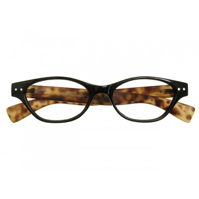 Reading Glasses - Womens - Layla - Black & Tortoise Shell