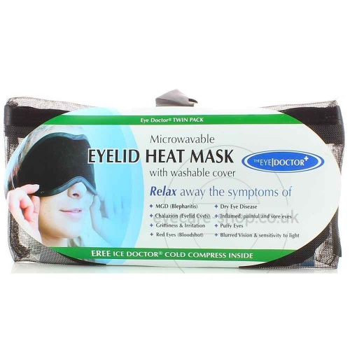 Eye Doctor Hot & Cold Eye Compress- Twin Pack