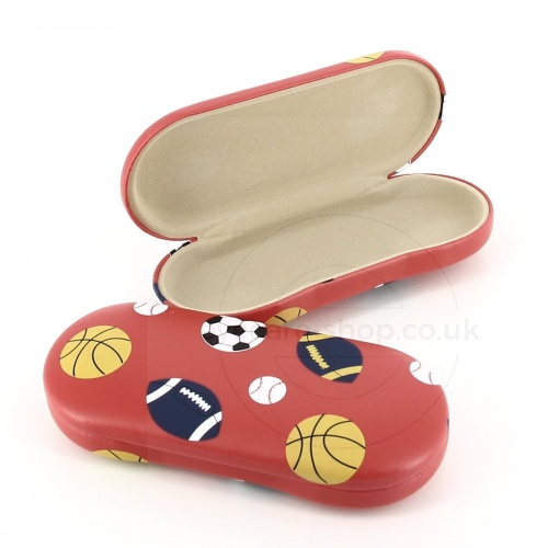 Fun Kids Glasses Case with Sports ball