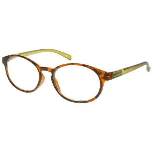 Reading Glasses - Unisex - Islington - Tortoise Shell & Green