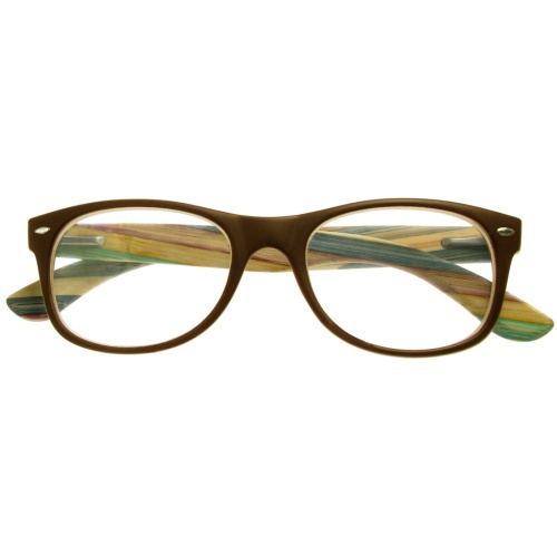 Reading Glasses - Unisex - Hampstead - Brown