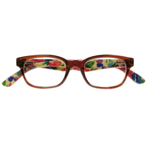Reading Glasses - Womens - Tallulah - Brown