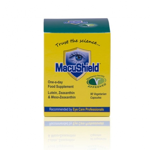 MacuShield Vegetarian 90 Capsules - 50% Off Short Expiry