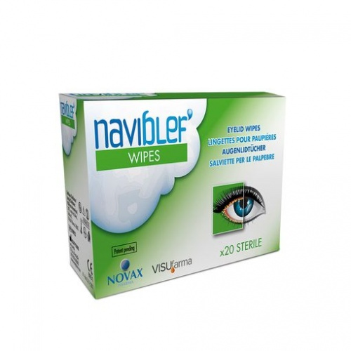 Naviblef Eye Lid Cleaning Wipes-Short Expiry Mar 21