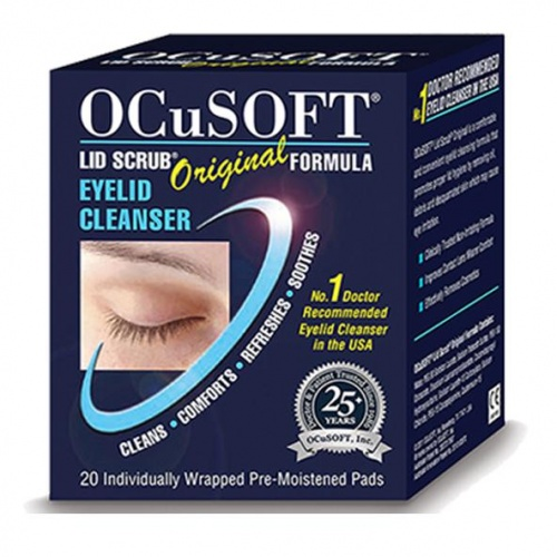 Ocusoft Original Lid Scrub Wipes-20