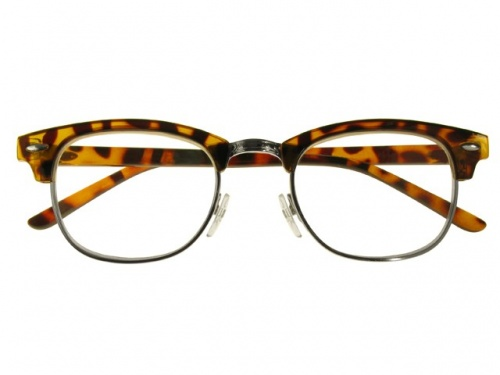 Tortoise Shell Retro JFK Style Reading Glasses-Bromley