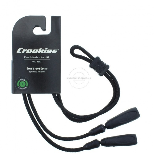 Croakies Terra System Adjustable XL End Glasses Retainer for Large Frames
