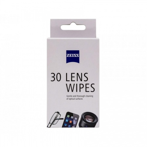 Zeiss Lens Wipes - 30 Wipes